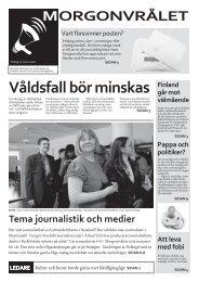 MORGONVRÅLET - Svenska social
