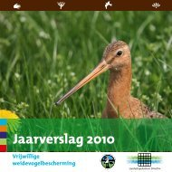 Jaarverslag 2010 - Weidevogelbescherming.nl