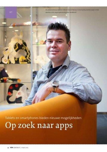 Contact, Vereniging Spierzoekten Nederland, maart ... - Marion de Boo