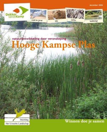 Brochure Hooge Kampse Plas (pdf) - Utrechts Landschap