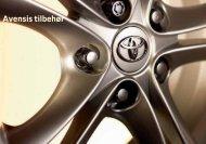 Avensis tilbehør