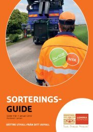 Sorteringsguide från 2012 (pdf) - Lomma kommun