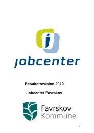 Resultatrevision 2010 Jobcenter Favrskov - Favrskov Kommune