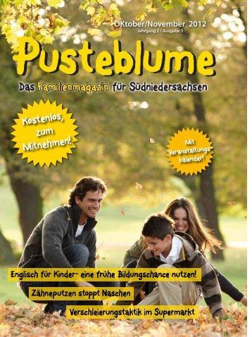 Ausgabe Oktober/November 2012 - Aktuelles