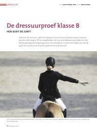 Bijlage Wedstrijdreglement Dressuur 2013 - Knhs