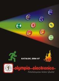 sicherheitsbeleuchtung - Olympia-electronics