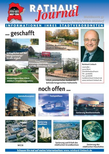 RATHAUS - CDU-Kreisverband Bonn