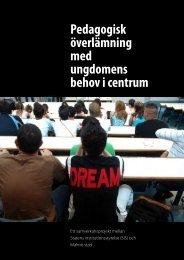 Pedagogisk överlämning med ungdomens behov i centrum (pdf 1 ...