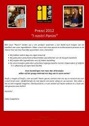LISTINO PANINI 2012 - Il Tartufo
