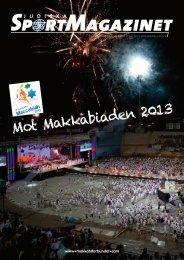 Mot Makkabiaden 2013 - Svenska Makkabiförbundet