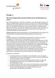 Bijlage 4 Hbo-nascholingsmodule specialist Onderwijs bij de ... - SIOB