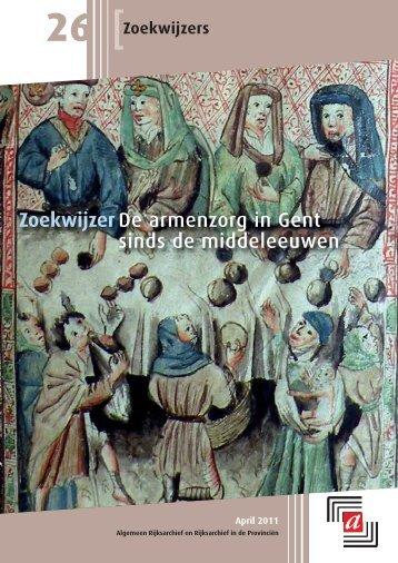 ZoekwijzerDe armenzorg in Gent sinds de middeleeuwen