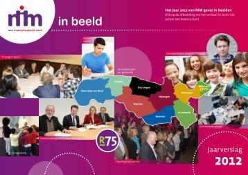 Jaarverslag 2012 - NIM Maatschappelijk Werk