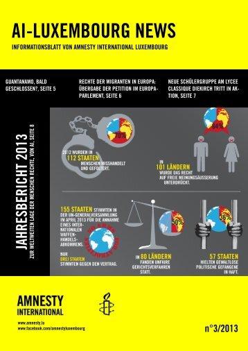 AI-LUXEMBOURG NEWS - Amnesty International