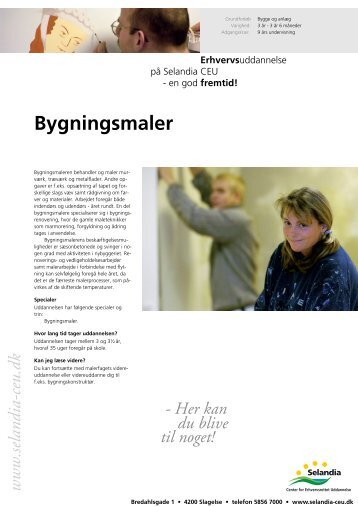 Bygningsmaler - Selandia CEU