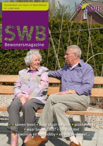 • samen leven • waar staan we voor • prokkelen • waar bouwt SWB ...