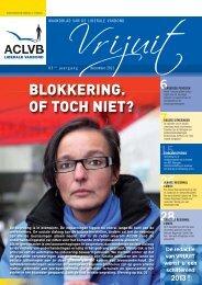Vrijuit, editie december 2012 - Aclvb