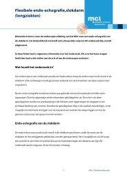 Flexibele endo-echografie,slokdarm - Maatschap Friese Longartsen