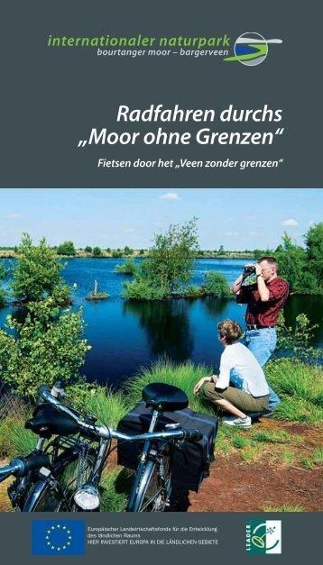 """Radfahren durchs """"Moor ohne Grenzen"""" - Naturpark Bourtanger Moor"""