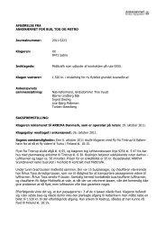 Afgørelse 2011-0223, 6. februar 2012 - Midttrafik - Ankenævnet for ...