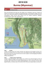 Burma - Kon-Tiki Resor