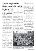 Fp–talesman: TA HEM VÅRA TRUPPER NU - Afghanistan.nu - Page 3