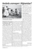 Fp–talesman: TA HEM VÅRA TRUPPER NU - Afghanistan.nu - Page 4