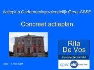 Rita De Vos - Open VLD Asse