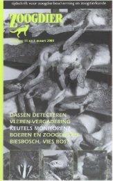 Zoog jij - Nieuw in de Zoogdierwinkel