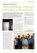 Clubblad Golfhorst Winter 2011 - Golfvereniging Golfhorst - Page 6