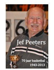 Jef Peeters, 70 jaar basketbal - Dames Basket Leuven