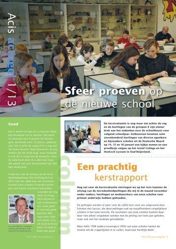 januari 2013 - Acis Hoeksche Waard