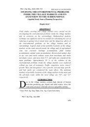 Misr J. Ag. Eng., 23(3) - Misr Journal Of Agricultural Engineering ...