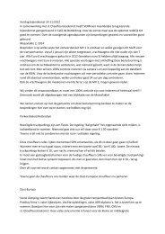 Verslag bijeenkomst 14-11-2012 In samenwerking met st ...