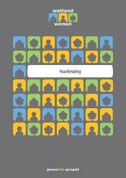 Brochure Huurbetaling - Wetland Wonen