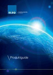 ELEQ Produktguide sv - Injab Kraft Teknik AB