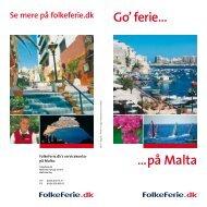 …på Malta Go' ferie… - FolkeFerie.dk