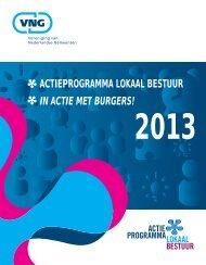 Actieprogramma Lokaal Bestuur In Actie met burgers! Overzicht ...