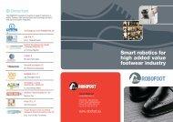 Smart robotics for high added value footwear industry - Tekniker