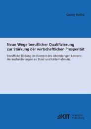 Neue Wege beruflicher Qualifizierung zur Stärkung der ...