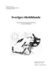 Sveriges riksbildande; Historia B-uppsats - Lenas hemsida