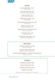 Forretter Våre tartarer Fra grillen - 222 SW Bar and Grill