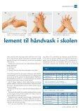 Håndsprit, et brugbart supplement til håndvask i skolen - Oplevelser ... - Page 3