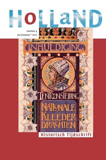 2003-4 - Holland Historisch Tijdschrift