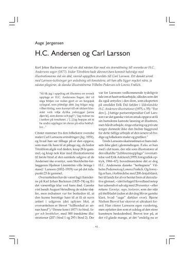 H.C. Andersen og Carl Larsson