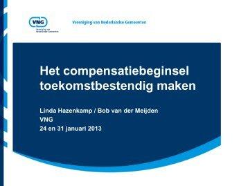 Workshop 9. Het compensatiebeginsel