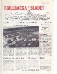 LBACKA BLADET - Föreningen för Fjällbacka