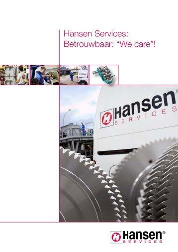Hansen Services - Hansen Industrial Transmissions