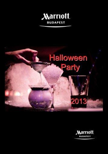 Halloween Buffet 1 - Catering by Marriott