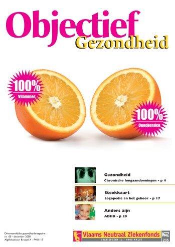 Objectief Gezondheid - Neutraal Ziekenfonds Vlaanderen